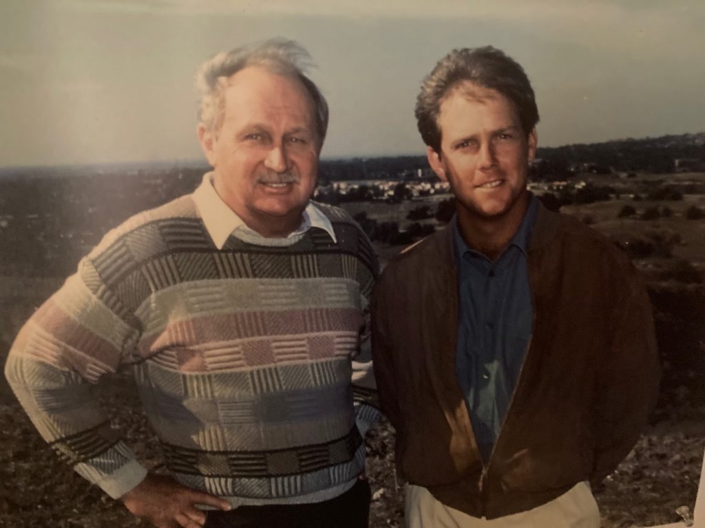 Cal Olson & Payne Stewart